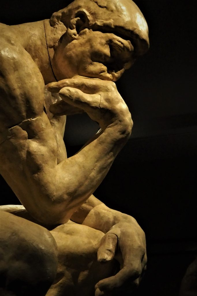 Auguste Rodin, De Denker, 1903, collectie Musée Rodin, Parijs. Foto: Maayke Meijering.