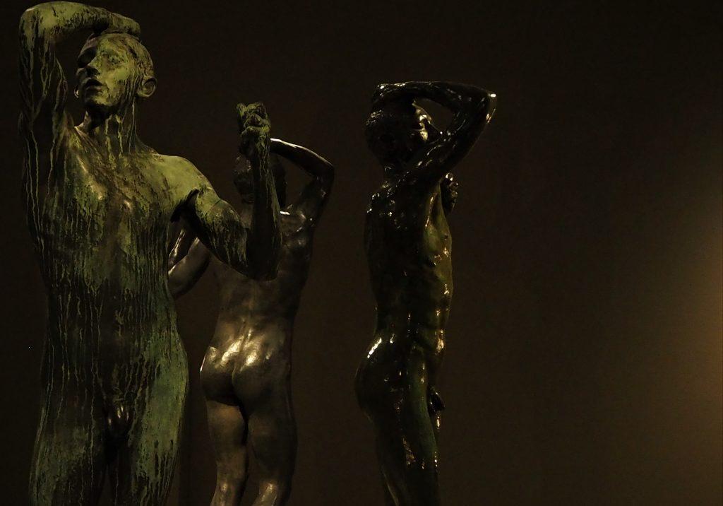 Auguste Rodin, Het Bronzen Tijdperk, 1876 (verschillende versies, gegoten tussen 1900-1920), collectie Musée Rodin, Parijs. Foto: Maayke Meijering.